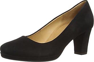 Gabor Shoes Comfort Fashion, Escarpins Femme, (Schwarz Fu Rot), 35.5 EU