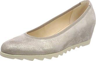 Gabor Shoes Comfort, Escarpins Femme, Beige (Leinen 12), 42 EU