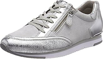 Shoes Damen Sport Derbys, Grau (Hellgrau/Ice), 37 EU Gabor