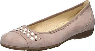 Gabor Shoes Gabor Jollys, Ballerines Femme, Bleu (Pazifik Cognac), 36 EU