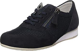 Shoes Comfort Sport, Scarpe Stringate Derby Donna, Verde (Oliv S.Natur/Met), 35.5 EU Gabor