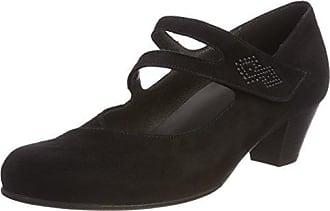 Gabor Shoes Comfort Basic, Escarpins Femme, Noir (Schwarz Deko), 42 EU