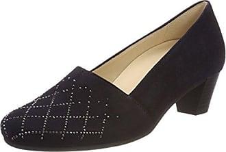 Comfort Basic, Zapatos de Tacón para Mujer, Azul (Atlantik Motiv), 40.5 EU Gabor