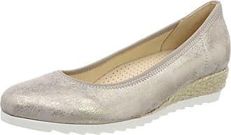 Gabor Shoes Comfort, Ballerines Femme, Gris (Light Grey 40), 42 EU