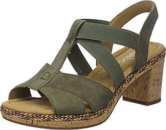 Gabor Shoes Comfort Sport, Sandales Bride Cheville Femme, Marron (Peanut Jute), 35.5 EU