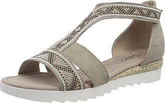 Gabor Shoes Comfort Sport, Sandales Bride Cheville Femme, (Weiss), 37 EU