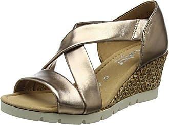 Gabor Shoes Gabor Casual, Sandales Bride Cheville Femme, Multicolore (ENGL.Rose), 36 EU