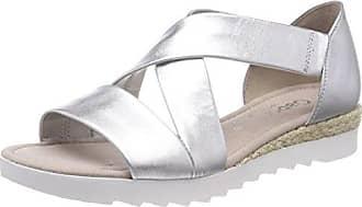 Gabor Shoes Comfort Sport, Sandales Bride Cheville Femme, Multicolore (Savannajut/Niete), 44 EU