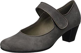 Gabor Shoes Gabor Basic, Escarpins Femme, Gris (19 Zinn), 42 EU