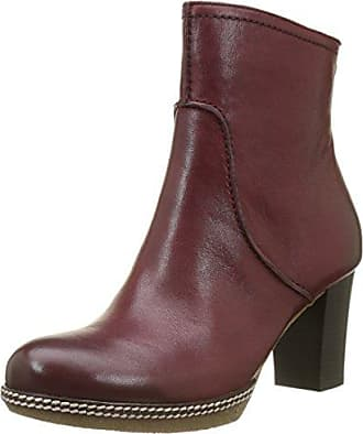 Gabor Shoes Gabor Casual, Bottes Femme, Rouge (55 Dark-Red), 40 EU