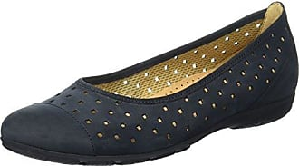 Gabor Shoes Damen Casual Geschlossene Ballerinas, Blau (Pazifik), 35 EU