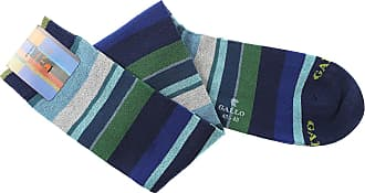 Socks for Men On Sale, Egeo Blue, Cotton, 2017, Universal Size Gallo
