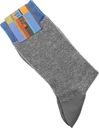Calcetines para Hombre, Azul Océano, Algodon, 2017, L Gallo