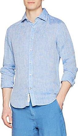 G7500M, Camisa para Hombre, Azul (Cobalt Azule), 40 (Talla del Fabricante: Large) Ganesh