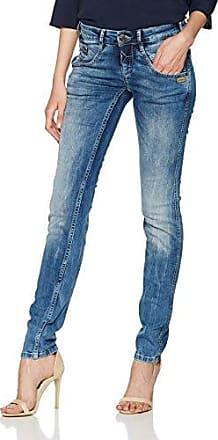 Womens Yasmin - Vera Denim - Deep Mid Blue Jeans Gang nwqcCwvy