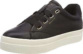 GANT Footwear Damen Amanda Sneaker, Schwarz (Black), 38 EU