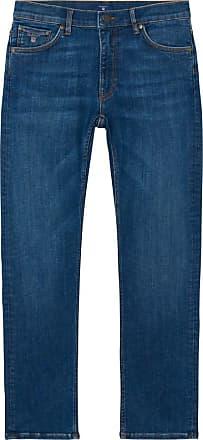 Straight Fit Cottonized Jeans - Semi Light Indigo Worn In GANT qpngp7ZXF
