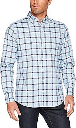 The Linen REG BD SS, Camisa Casual para Hombre, Blanco (White 110), 40(Tamaño Fabricante:Medium) GANT