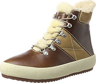 GANT Footwear Damen Simona Pantoletten, Braun (Cognac), 37 EU