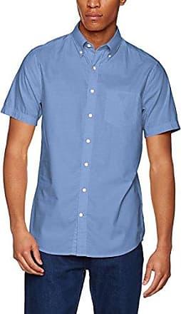 O1. Washed Pinpoint OXF REG BD SS, Camisa Casual para Hombre, Rosa (Lipstick Pink 630), 40(Tamaño Fabricante:Medium) GANT