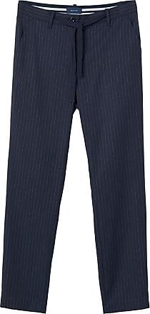 Pinstripe Trousers - Evening Blue GANT PztdDWWC
