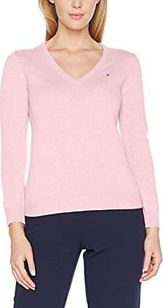 GANT Stretch Cotton V-neck Sweater, Pull Femme, (Raspberry Purple), 16 (Taille fabricant: X-Large)
