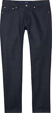 Préparation Tech Jeans Ajustement Conique Voyage - Bleu Foncé Brut Gant gRf9IkX