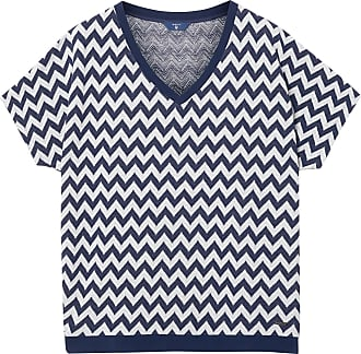Top mit Zigzag Square Muster GANT