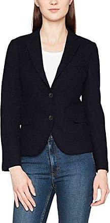 GANT O1. Jersey Pique Blazer, Veston Femme, (Charcoal Melange), 48