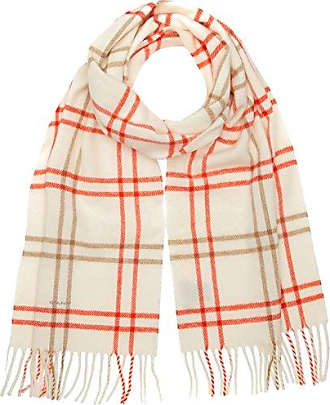 Outlet 100% Authentic Leaf Scarf - Strong Coral GANT Amazon Sale Online Outlet Really Clearance Discount zv33pmOHP