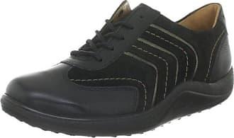 AKTIV Fee, Weite F 4-200591-01650 - Zapatos casual para mujer, color negro, talla 42.5 Ganter