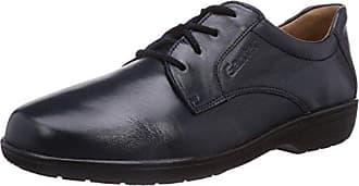 Giulietta, Weite G, Zapatos de Cordones Derby para Mujer, Gris (Navy/Gum), 35.5 EU Ganter