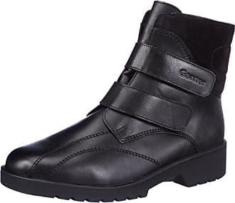 GWEN, Weite G, GORE-TEX, Damen Kurzschaft Stiefel, Schwarz (schwarz/antrazit 0162), 37.5 EU (4.5 Damen UK) Ganter