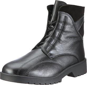 Ellen-Stiefel, Weite G, Damen Kurzschaft Stiefel, Schwarz (Schwarz 0100), 41 EU (7.5 Damen UK) Ganter