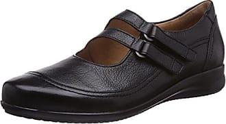 Ganter 2-204267 - Zapatillas Altas de Cuero Mujer, Color Negro, Talla 41 EU