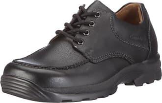 Ganter GREGOR, Weite G - Zapatos de cordones para hombre, color mehrfarbig (schwarz 0100), talla 46