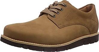 Ganter Aktiv Guido, Weite G - Zapatos De Cordones para hombre, color grau (schwarz 0100), talla 40.5