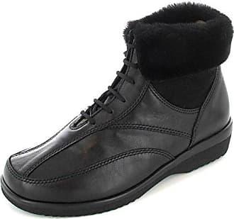 HANNA 2085210100 Damen Stiefel, Schwarz 38,5 EU Ganter