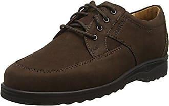 Ganter Eric, Weite I - Zapatos con Cordones de Cuero Hombre, Color Negro, Talla 41