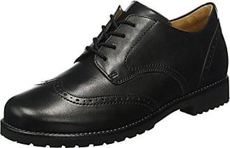Pimkie Crs18 Derbystuds, Zapatos de Cordones Derby para Mujer, Negro (Noir), 41 EU