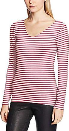 Garcia Jeans Garcia M80012, Camiseta para Mujer, Rosa (Baroque Rose 2491), 40 (Talla del Fabricante: M)