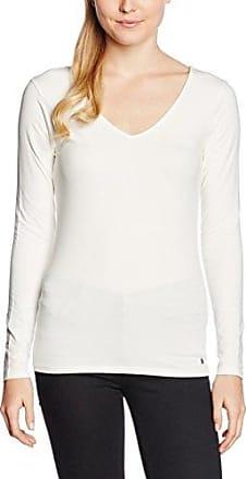 Garcia Jeans Garcia Q60006, Camiseta sin Mangas para Mujer, Blanco (Dark Moon), 42 (Talla del Fabricante: L)
