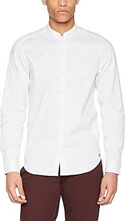 C71036, Chemise Casual Homme, Blanc (White 50), L (Taille du Fabricant: L)Garcia