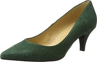 Diavolezza Celine, Zapatos de Vestir de Ante, Mujer, Verde (Olive), 40