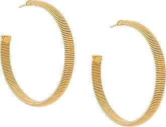 Gas Bijoux Milo large hoop earrings - Metallic abgaCK
