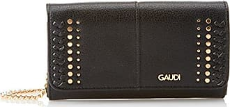 Gaudi V8A-70695, porte-monnaie femmeNoirNoir (Nero V0001), 2x11x20 cm EU