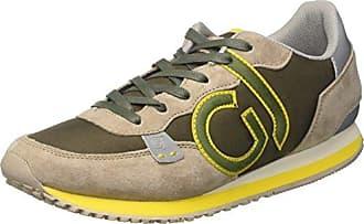 Gaudì Cesar, Zapatillas para Hombre, Multicolore (Sand Olive), 43 EU