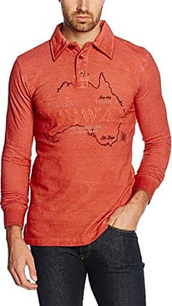Geographical Norway Kark Men, Polo Homme, Orange (Orange Orange), XL