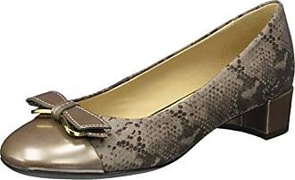 D Carey D, Zapatos de Tacón para Mujer, Azul (Navy), 36 EU Geox