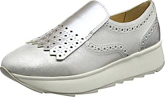 Damen D Thymar B Sneakers, Grau (LT GREYC1010), 35 EU Geox